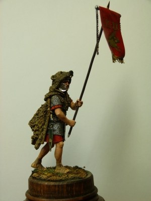 Vexillifer of the 20th Legion, Roman Empire 1st century AD