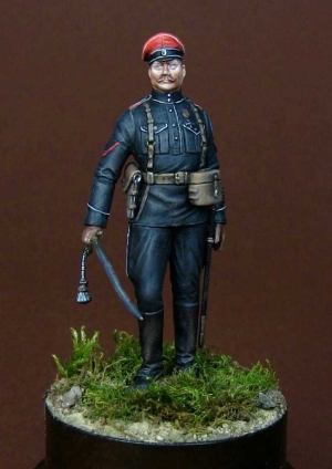 Russian White Army officer, 1919-20