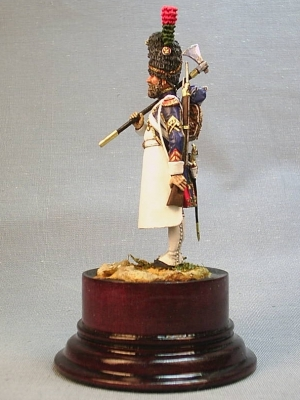 Sapper of the foot chasseurs regiment of the French Imperial Guard, 1810