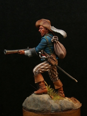 Pirate (№5) with blunderbuss, 18 century