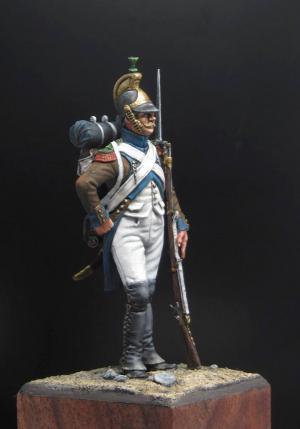 Italian fusilier of the Legion «Piemonte Du Midi», 1805-09