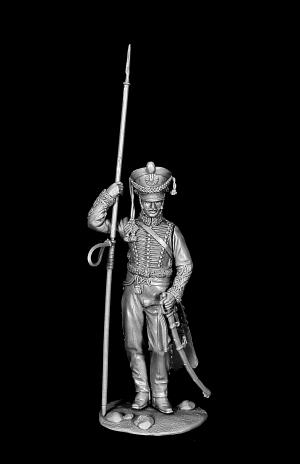 Рядовой армейских гусарских полков, Россия 1812-14 гг.