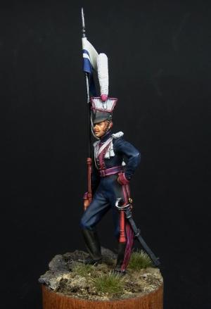 Russian lancer, 1812-14