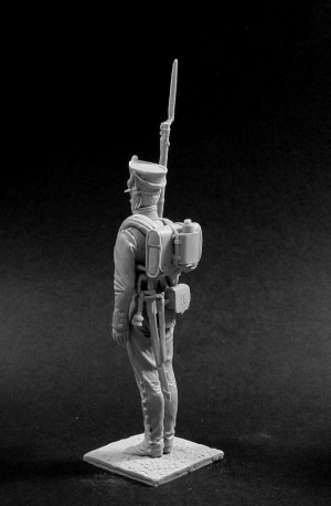 Non-commissioned officer (NCO) of the musketeer (or Jaeger) regiments, Russia 1812-14