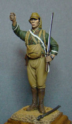 Japanese paratrooper of Kaoru Airborne Raiding Detachment, 1944