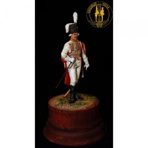 Officer of the Life-Guards Hussar regiment, Russia 1799