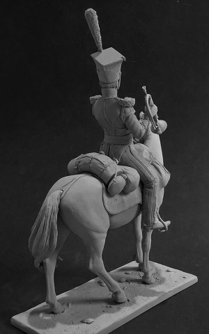 Trumpeter of the Lancers regiments, Russia 1809-13