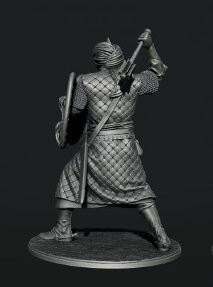 Berber-bodyguard (dynasty Almokhad), XII-XIII centuries