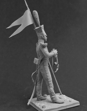 Private of the lancers regiments, Russia 1809-14