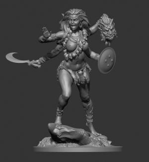 Indian goddess Kali