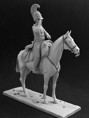 Russian officer of the Life-Guard Dragoon regiment, 1812-14