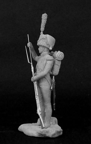 Voltigeur light infantry, France 1809-12.