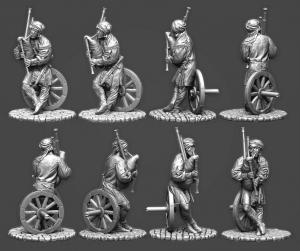 Европейский крестьянин с волынкой, 16 век
