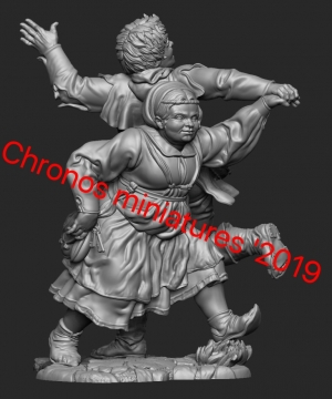 Средневековые танцоры