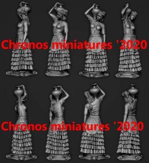 Минойская женщина