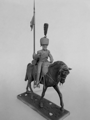 Sapper of mounted chasseurs regiments, France 1809-12