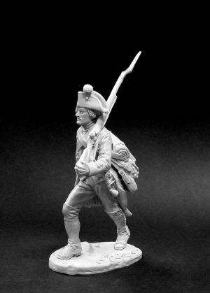 Private of the musketeer regiments, Russia 1799
