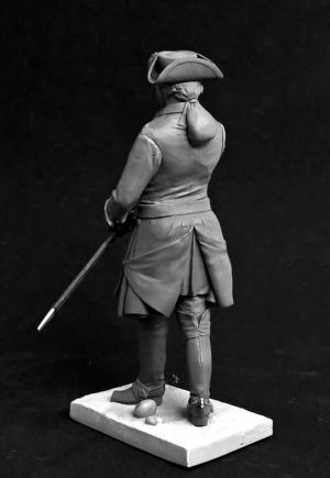 Swedish cavalry officer, 1710s