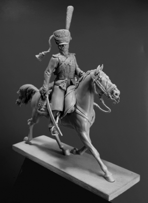 Officer of the cavalry regiments of the St.Petersburg Militia, Russia 1812-14