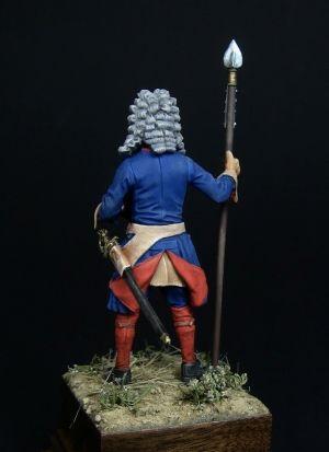 Swedish officer of the infantry regiments, 1700-21