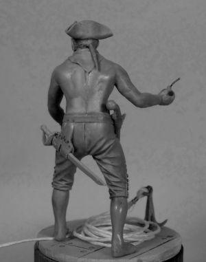 The pirate (№ 4), 18 century