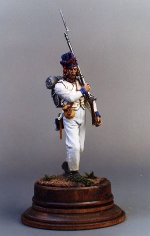 Fusilier of the 33rd line infantry regiment, France 1804