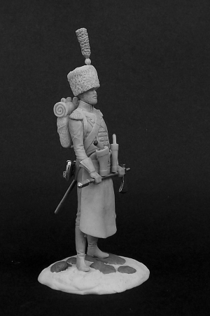 "Sergeant-sapper 7th line infantry regiment ""Real Africano"". Kingdom of Naples, 1813-15"