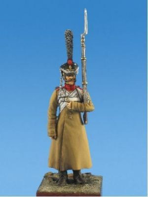 Russian grenadier of infantry regiments, 1812-15