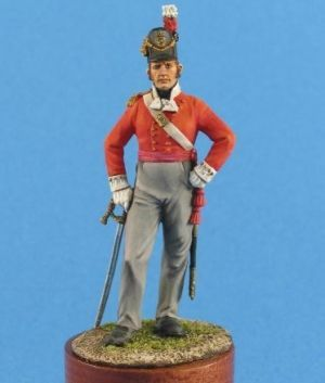 British officer of infantry regiments, 1812-15