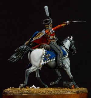 Ober-officer of the hussar regiments, Russia 1812-14