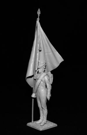 Russian standard-bearer of infantry regiments, 1812-14