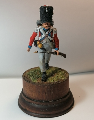 Swiss Grenadier of the 4th infantry regiment, 1808-12