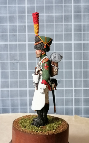 Sapper of the Flanker Regiment of the Young Guard Corps, France 1813