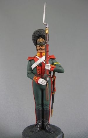 Russian private of the Life-Guard Mounted Grenadiers regiment, 1848-55