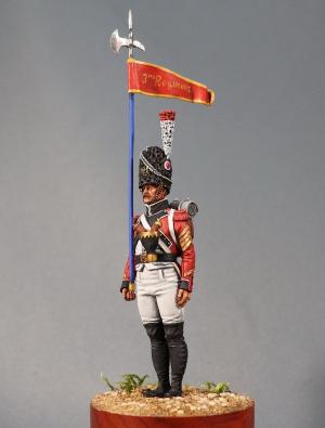 2nd Eagle-bearer of the 3rd Swiss infantry regiment, 1809-12