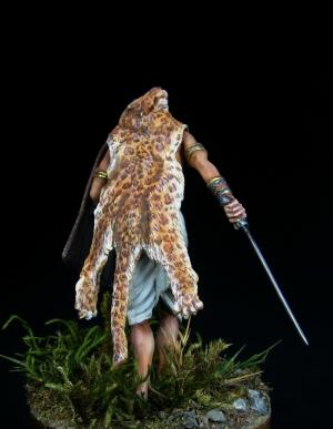 Kshatriya warrior. Ancient  India, IV-II century B.C.