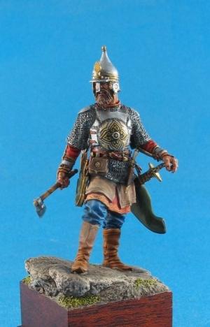 Russian noble warrior (Yermak – conqueror of Siberia), XVI century
