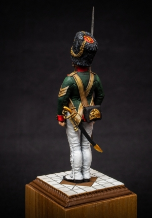 Non-commissioned officer (NCO) of the Palace Grenadier Company, Russia 1848