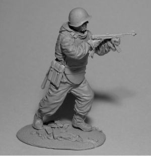 Soviet soldier of engineering and assault battalions, 1943-45