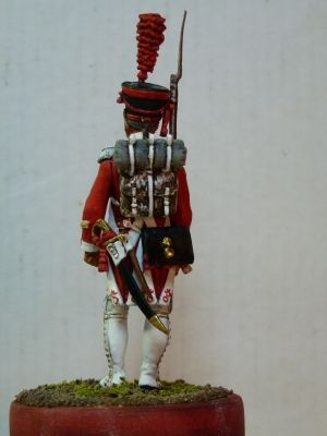 "Sergeant of the battalion ""Walasan"", Switzerland 1810"