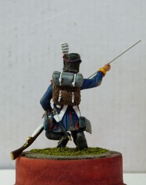 Private of the 8th line regiment Portugal, 1806-07