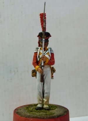 Saxon grenadier of the Life-Guard regiment, 1813