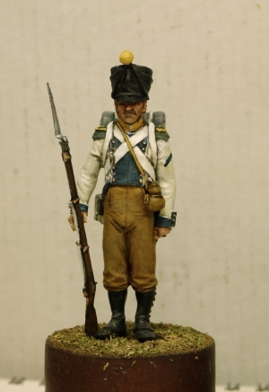 Voltigeur of the 2nd regiment of the line Westphalia, 1809