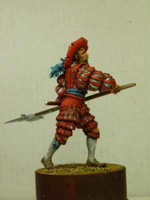 German Landsknecht, 16th century
