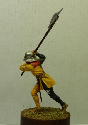 Swiss halberdier of the canton of Uri, 15th century
