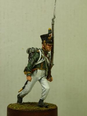 Private Flanker-Jäger Regiment of the Imperial Guard, France 1811