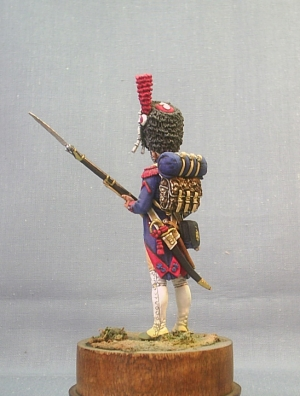Elite foot gendarme of the France Imperial Guard, 1806