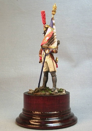 "Eagle Bearer of battalion of ""Black pioneers"", France 1805-06"
