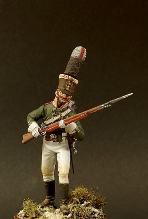Russian Unter-officer (NCO) of the infantry regiments, 1805