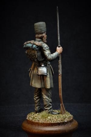 Russian ratnik Moscow (or Nizhny Novgorod) militia, 1812-13